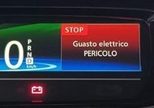 Zoe Guasto Elettrico Pericolo STOP